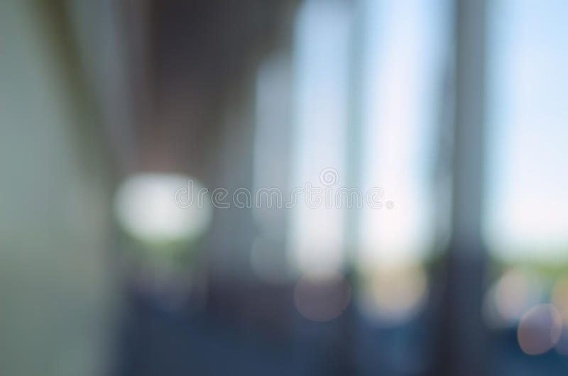 Blurred city background - The Arched walkway. royalty free stock images