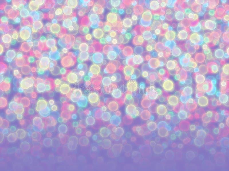 Blurred coloreó bolas imagen de archivo libre de regalías