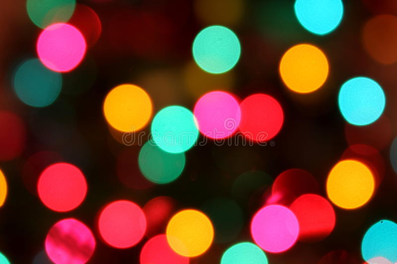 Download Blurred Colorful Circle Lights Stock Image - Image: 17046775