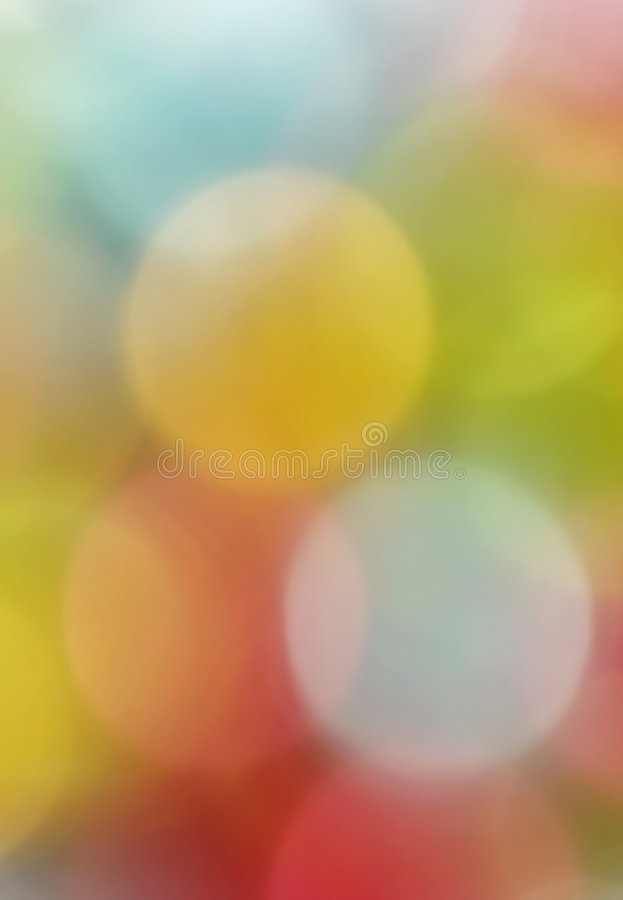 Blurred Colorful Decoration Lights Royalty Free Stock Photo
