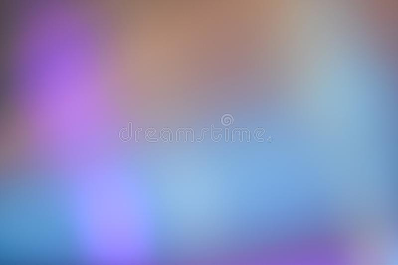 Blurred colorful lighting at soft and simple for background. stock image