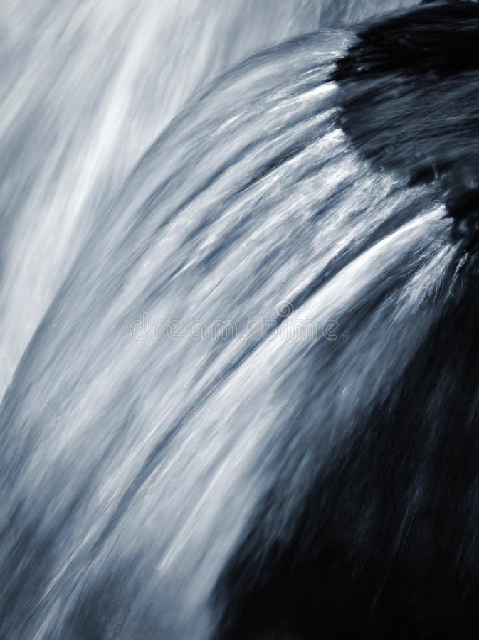 Free Blurred Detail For Falling Water Stock Photo - 79104010