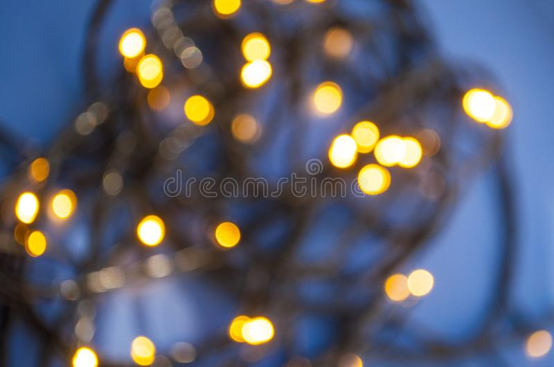 Blurred festive backgound. stock image