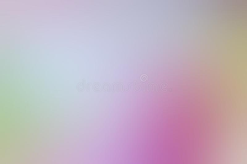 Blurred gradient pink hue colorful pastel soft background illustration for cosmetics banner advertising background. The blurred gradient pink hue colorful pastel stock illustration