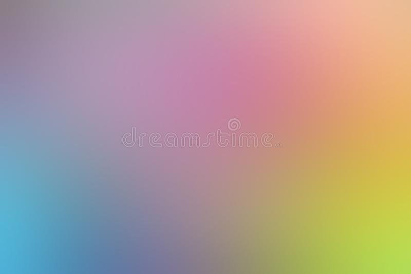 Blurred gradient pink hue colorful pastel soft background illustration for cosmetics banner advertising background. The blurred gradient pink hue colorful pastel vector illustration