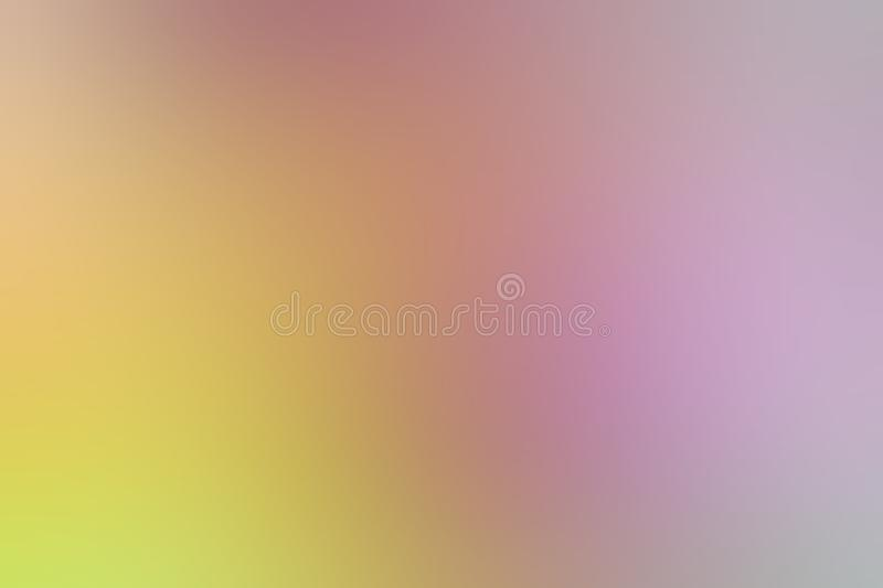 Blurred gradient yellow pink hue colorful pastel soft background illustration for cosmetics banner advertising background. The blurred gradient yellow pink hue vector illustration