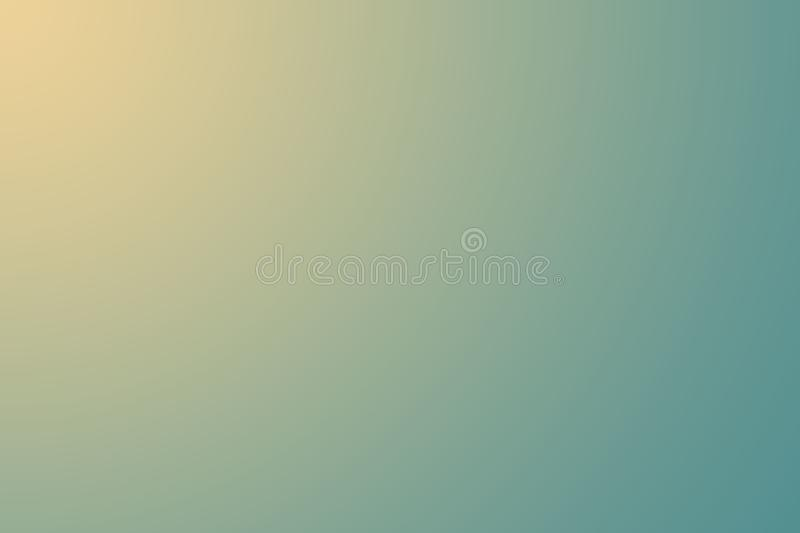 Blurred green and yellow color background. Abstract gradient desktop wallpaper design for your content royalty free illustration