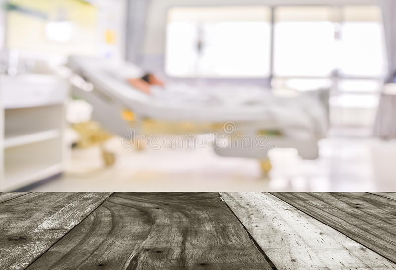 blurred image of Patient with drip in hospital for background us stock images