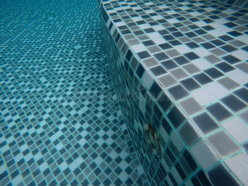 Blurred images under the natural background of abstract water and the texture and style of the pool.Use for website/banner. Blurred images under natural stock photo