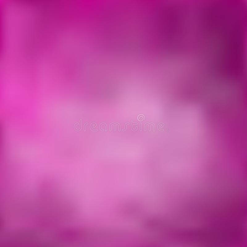 Blurred interesting background, bright transition from deep red-purple to light magenta stock illustration