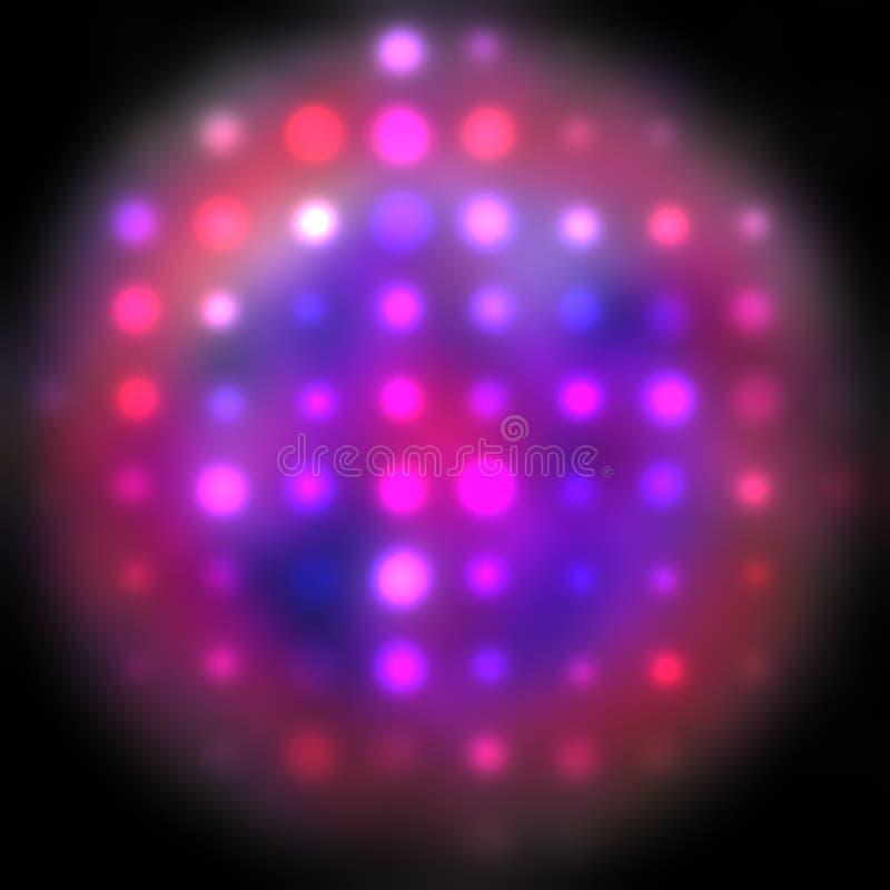 Download Blurred lights stock illustration. Image of spheres, shapes - 7605894
