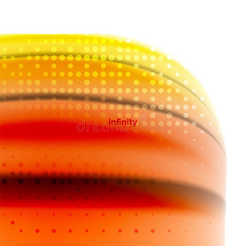 Blurred mischende flüssige Farben Flüssigkeit, abstrakter Hintergrund, Webdesignschablone für Darstellung, APP-Tapete, Fahne vektor abbildung