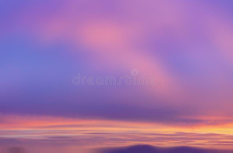Dramatic sunrise sky. Blurred nature background. Morning sky. Dramatic sunrise sky stock images