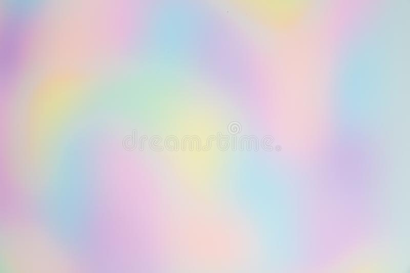 Blurred and Pretty Rainbow or Multi Colored Background with Organic, Free-formed Shapes. royalty free stock photos