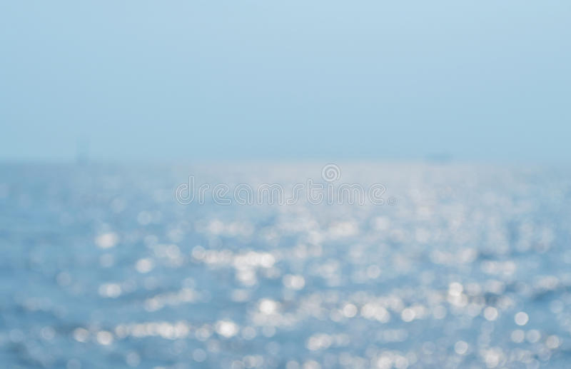 Blurred sea waves royalty free stock photos
