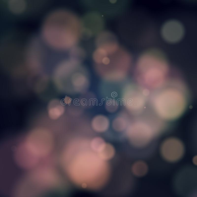Blurred spots royalty free stock images