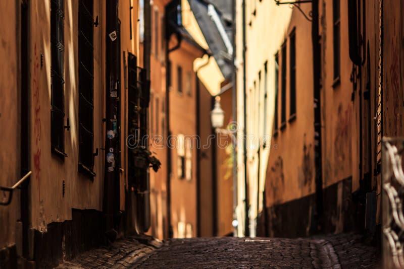 Blurred street stock photo