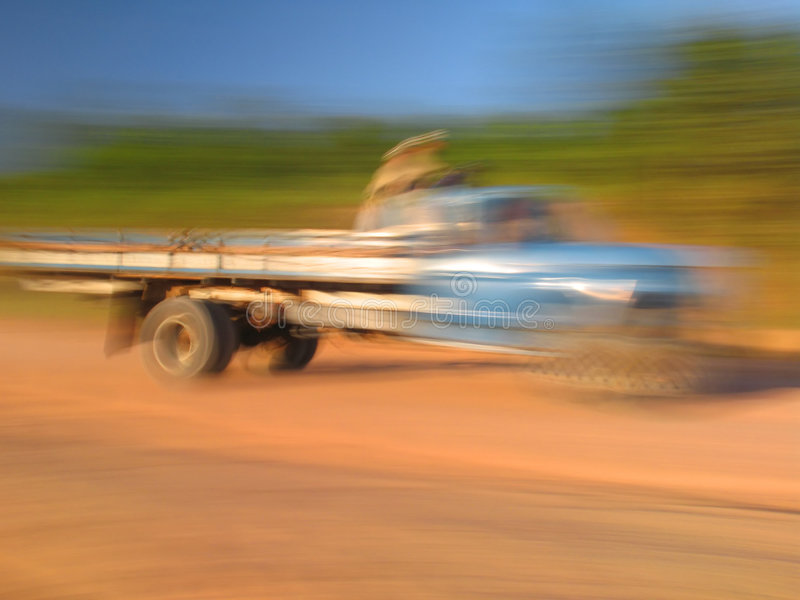 Download Blurred truck stock image. Image of action, vehicle, effect - 472283
