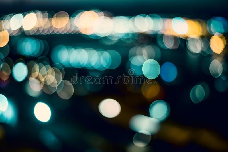 Blurring lights. stock image