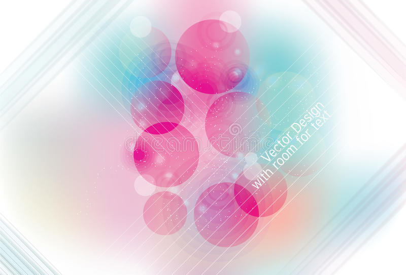 Download Blurry Abstract Circle And Line Background Stock Vector - Image: 18501120