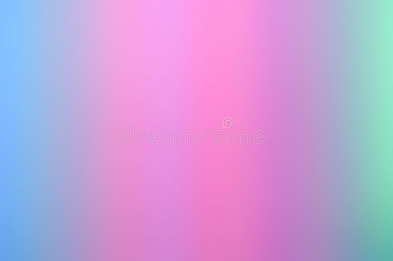 Blurry abstract gradient backgrounds. Smooth Pastel Abstract Gradient Background with pink and blue colors royalty free illustration