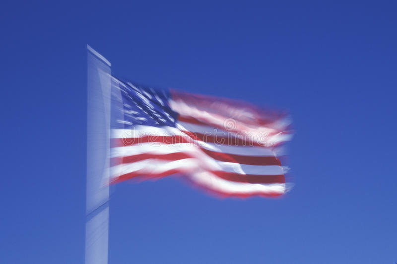 Download Blurry American Flag stock image. Image of blurry, blue - 26891145
