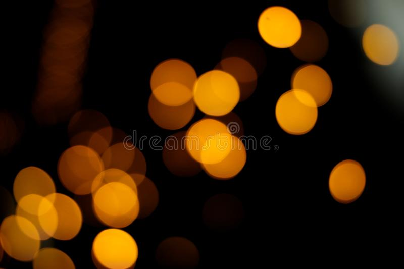 Blurry defocused light bokeh abstract background stock photos