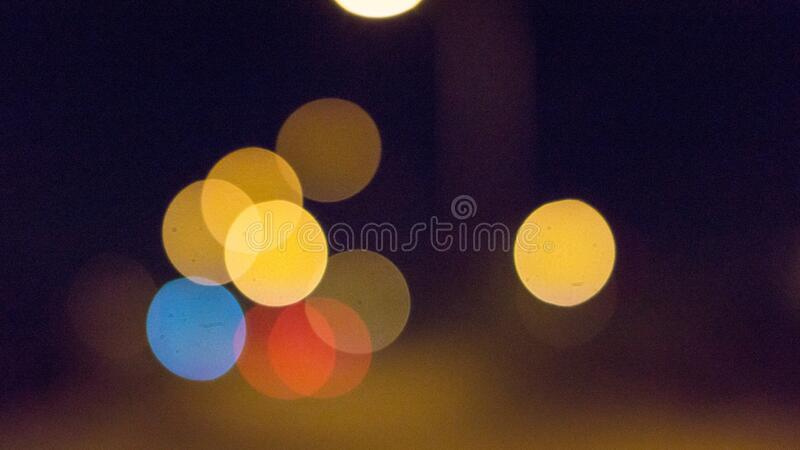 Blurry Effect Of Light During Nigh Time Free Public Domain Cc0 Image