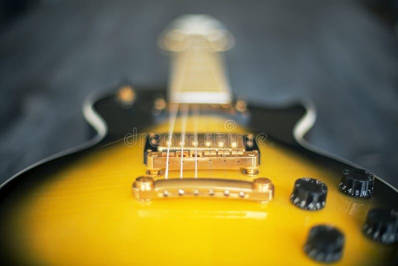 Blurry electric guitar stock photos