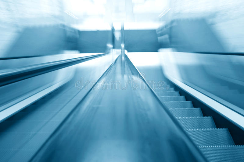 Download Blurry escalator stock image. Image of metal, moving - 24559141