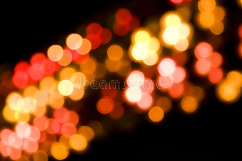 Blurry lights stock image