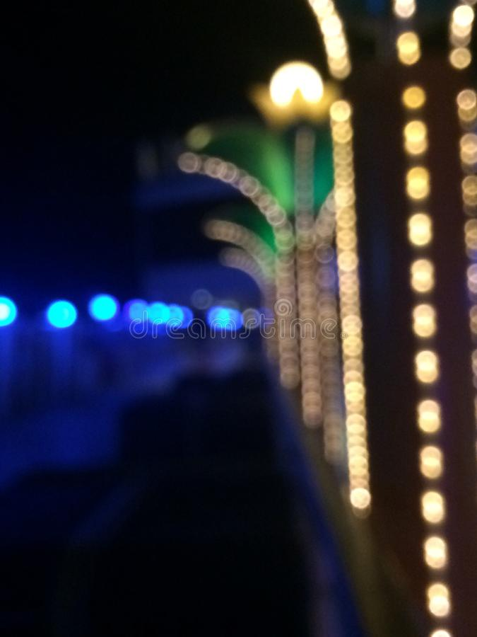 Blurry lights royalty free stock images