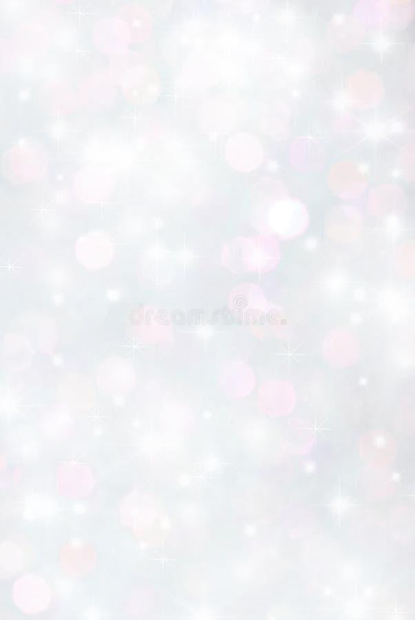 Blurry lights sparkle glitter bokeh royalty free stock photo