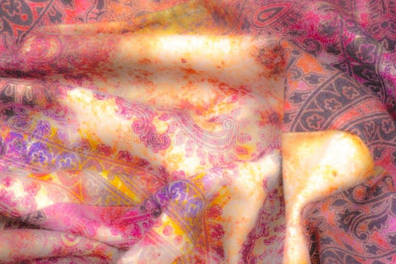 Blurry, no hay contraste, Textura, fondo, patrón, Tejido de formas abrasivas, en estilo indio. Motivos orientales, es libre illustration
