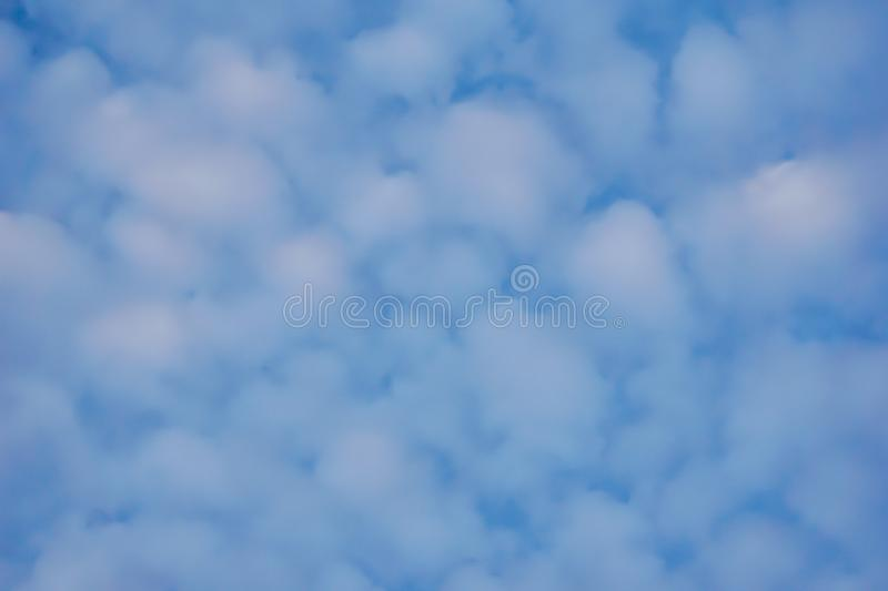 Bbeautiful sky with clouds background. Blurry sky blue or azure sky and cloud on bright daytime of sun. Blurry sky blue or azure sky and cloud on bright daytime stock photo