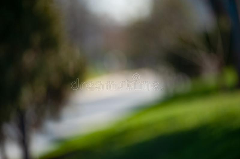 Blurry summer background stock photos