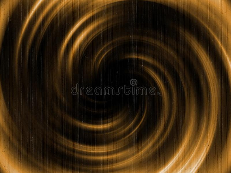 Blurs in twisted circular shapes