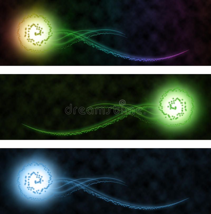 Blury abstract web banner stock images