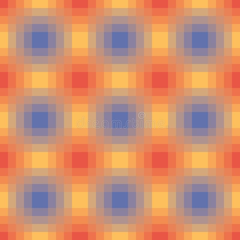 Blury gradient seamless pattern with optical illusion stock image