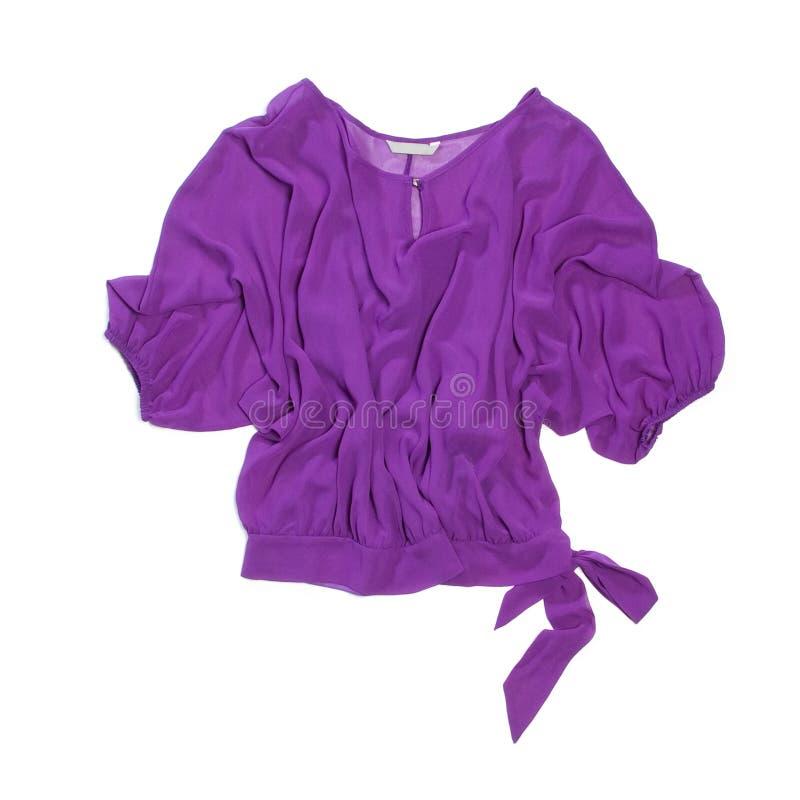Blusa de la mujer de la lila imagen de archivo libre de regalías