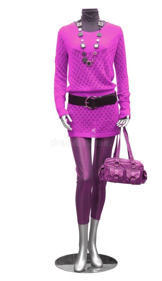 Blusa e calças justas no mannequin foto de stock royalty free