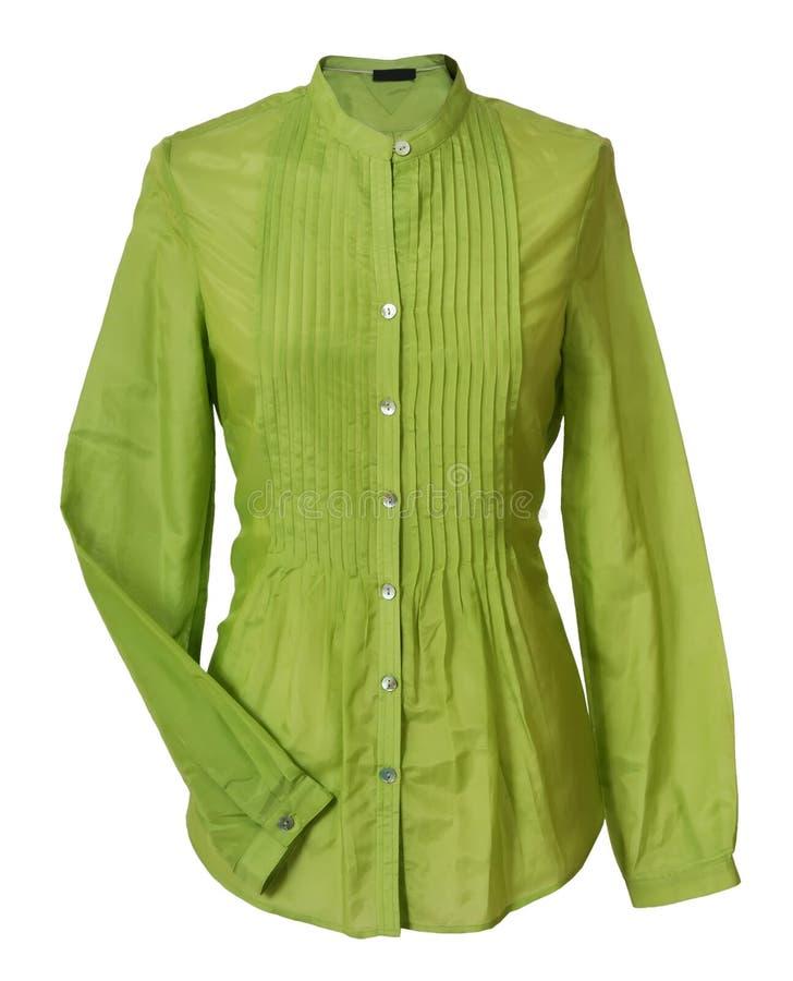 Blusa verde immagini stock libere da diritti