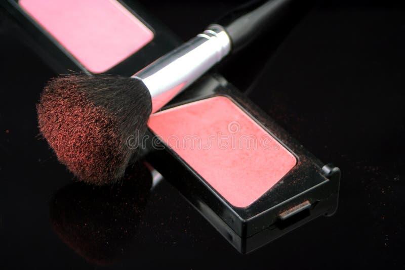 Blush brush stock images
