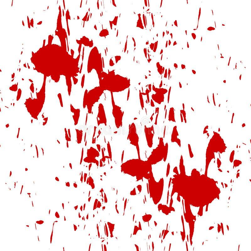 Blut Splatter stock abbildung