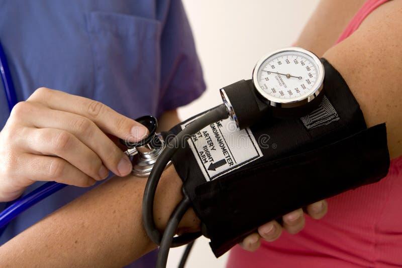 Blutdruck lizenzfreie stockbilder