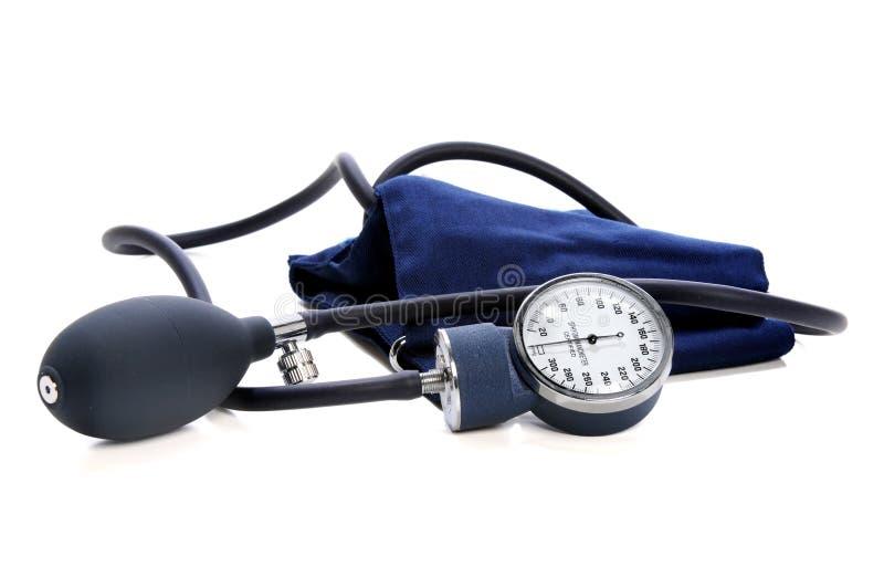 Blutdruck-Einheit stockbilder