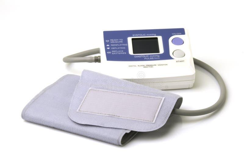 Blutdruck-Lehre stockfotos