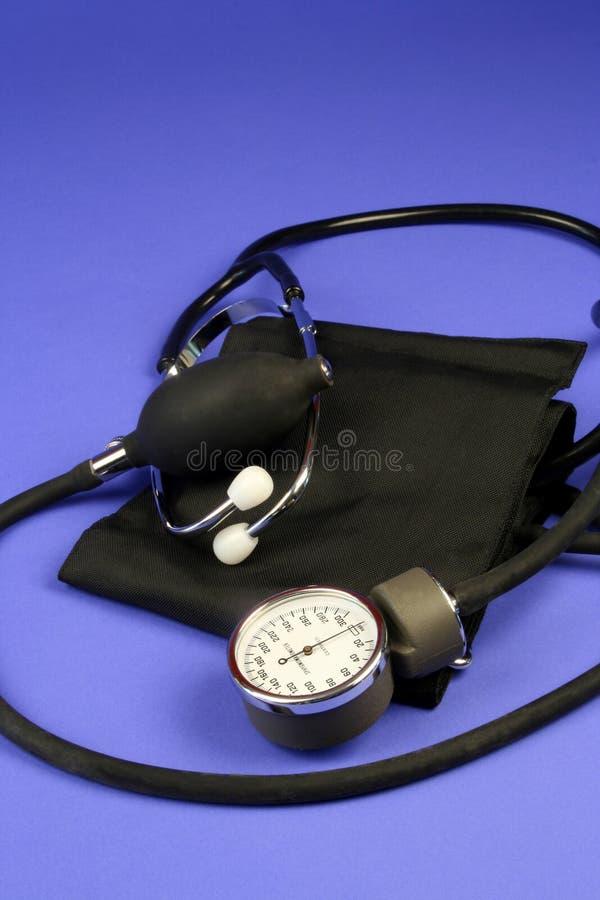 Blutdruck-Manschette lizenzfreie stockfotografie