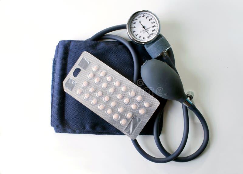 Blutdruck Meds stockbild