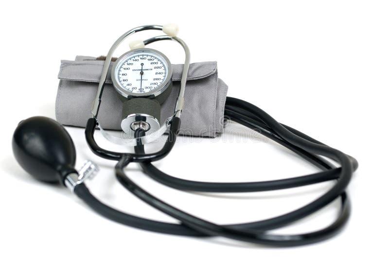 Blutdruck-Manschette stockbild. Bild von manschette..